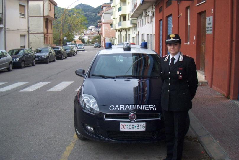 Cap Pini Sara - sede Comando Compagnia di Jerzu