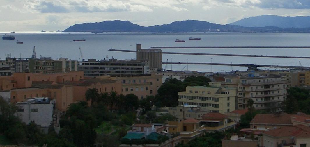 Cagliari da viale fra ignazio