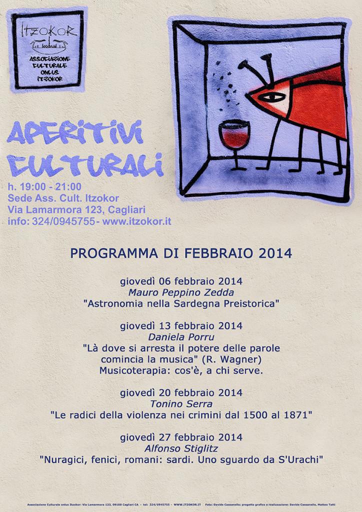 Aperitivi Culturali - programma 2014