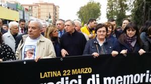Don Luigi Ciotti e Sonia Alfano a Latina