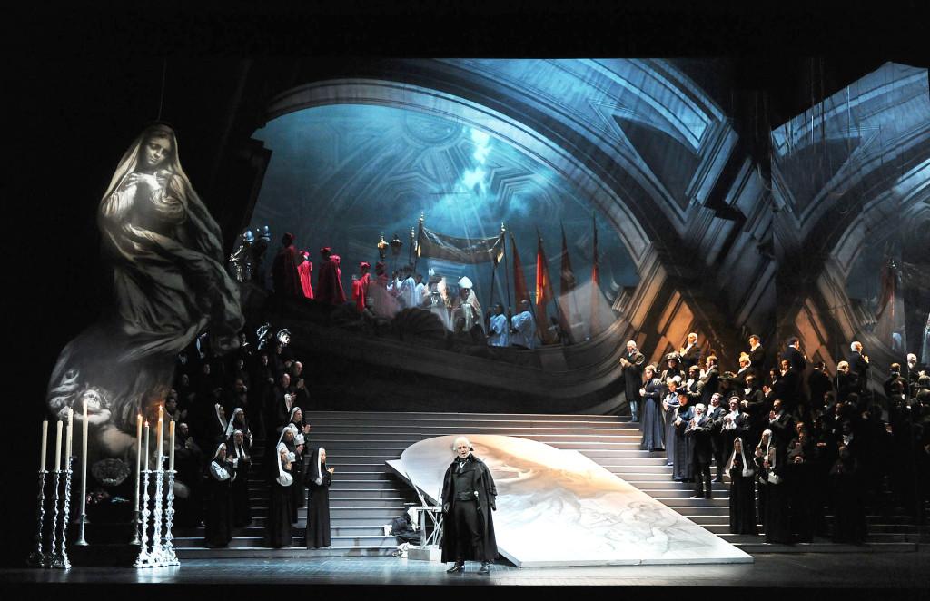 Tosca atto I (foto Roberto Ricci)