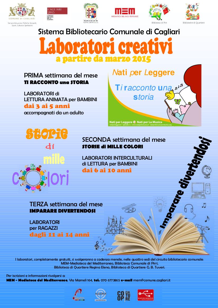 Famoso Attività di laboratorio creativo per bambini | OG11