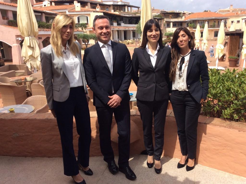 Stefania Riboldi, Emanuele Massolini, Piera Seddaiu, Raffaella Manca