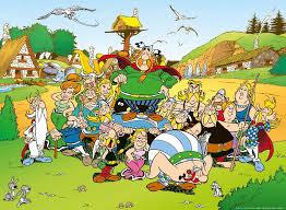 La tribu' del famoso fumetto di Renè Goscinny e Albert Uderzo.