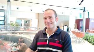 Lo scrittore Riccardo Barlucchi