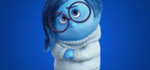 Tristezza, un personaggio del film InsideOut, 2015 Disney/Pixar