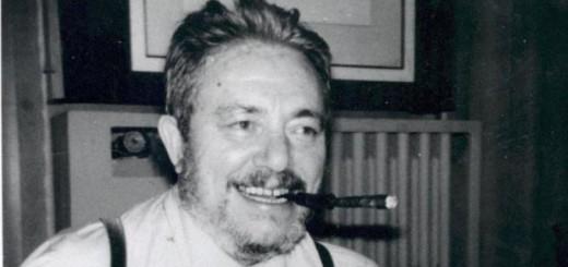 Il mitico giornalista sportivo Gianni Brera.