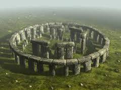 Stonehenge nel Wiltshire, Inghilterra.