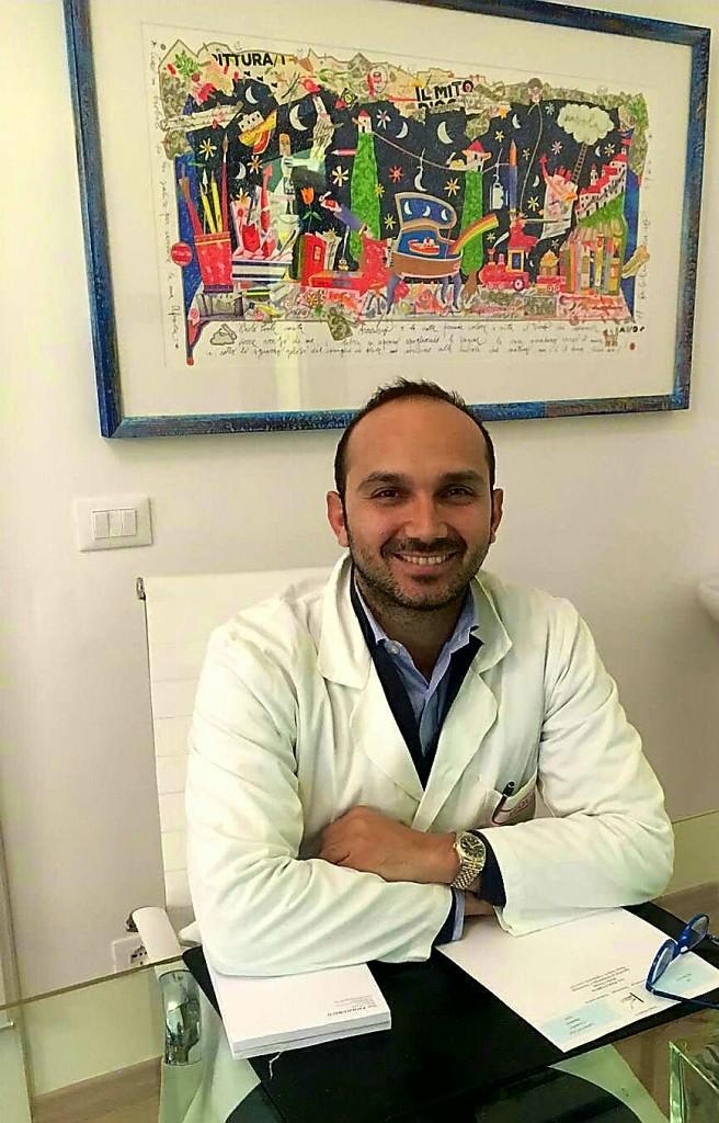 Il giovanissimo Dr Paolo Greco.