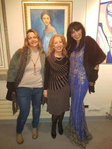 Ester con Tiziana Monoscalco e Tiziana Titzi Bordacconi