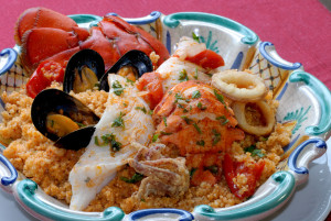 Cous Cous alla trapanese. Crediti : http://mangiarebuono.it