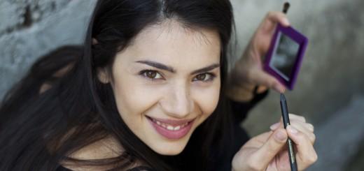 Lavinia sorride in un momento d relax. Crediti foto: Marco Rigamonti