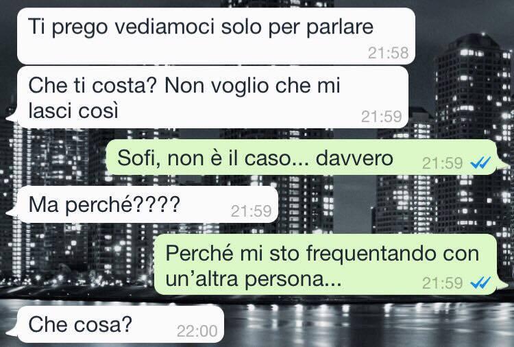 Addio Amore Via Whatsapp O Sms Rivista Donna