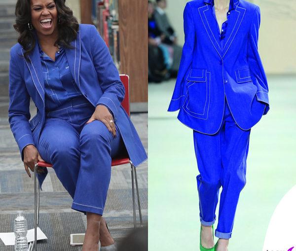 MichelleObama-TailleurAkris-RivistaDonna.com