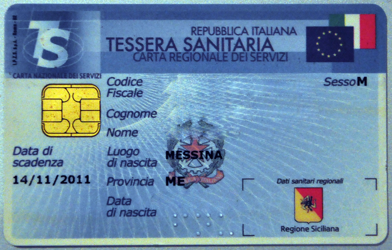 Tessera-Sanitaria-RivistaDonna.com
