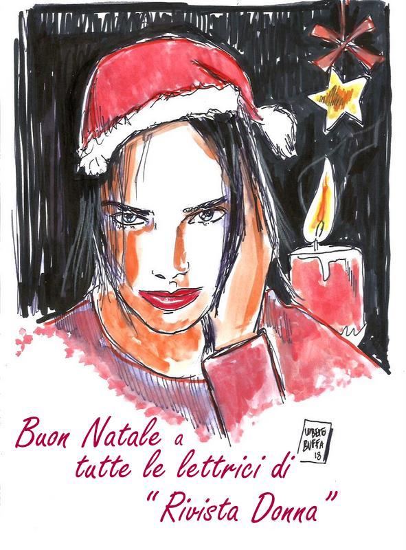 BuonNatale-Umberto-QuadriRivistaDonna.com